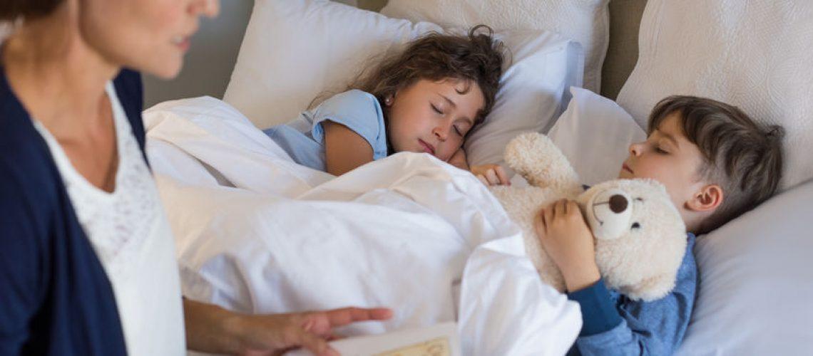 fazer a criança dormir