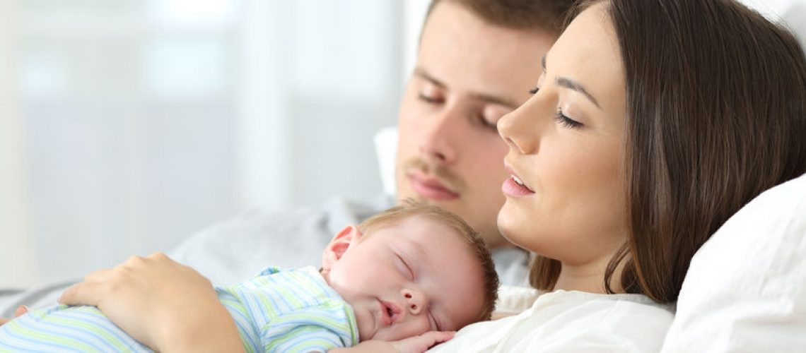 bebê pode receber visitas